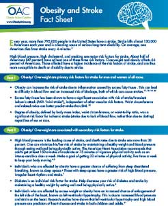 obesity and stroke facts